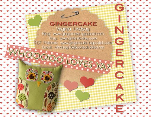 Gingercakepostcard