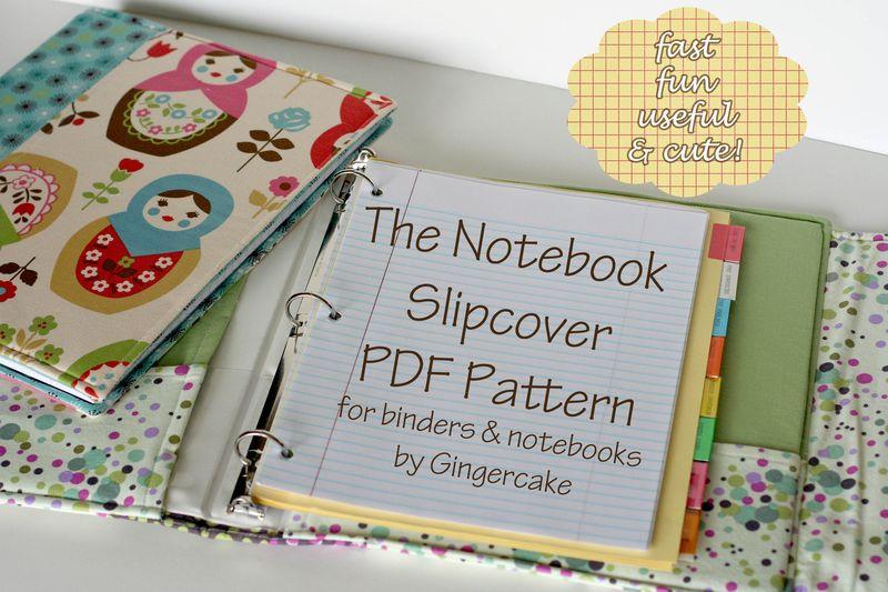Notebook slipcover cover