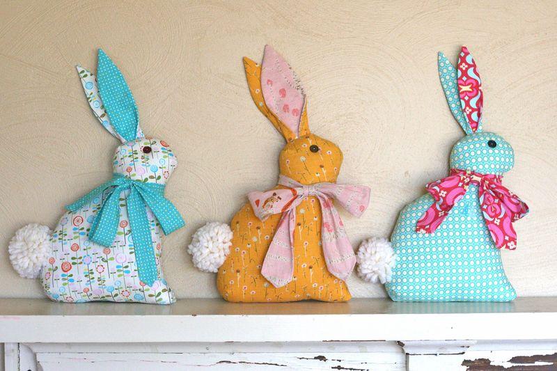3 bunnies right