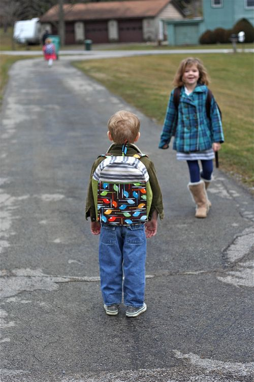 Kids in driveway