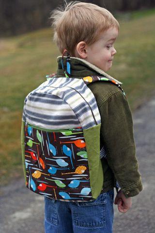 Cal's backpack