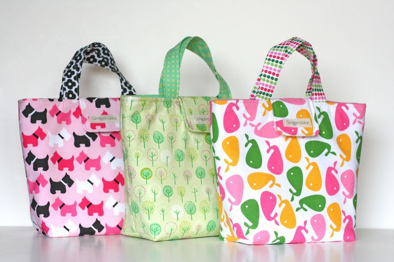 3 lunch bags