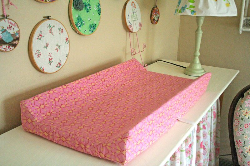 Gingercake Changing Pad