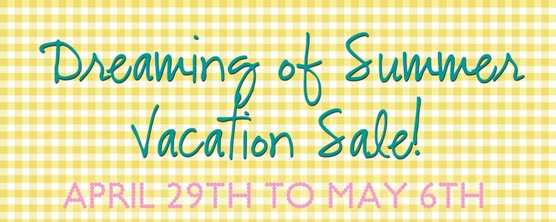 Summer vacation sale